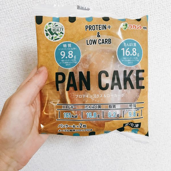 プロテインパンケーキ