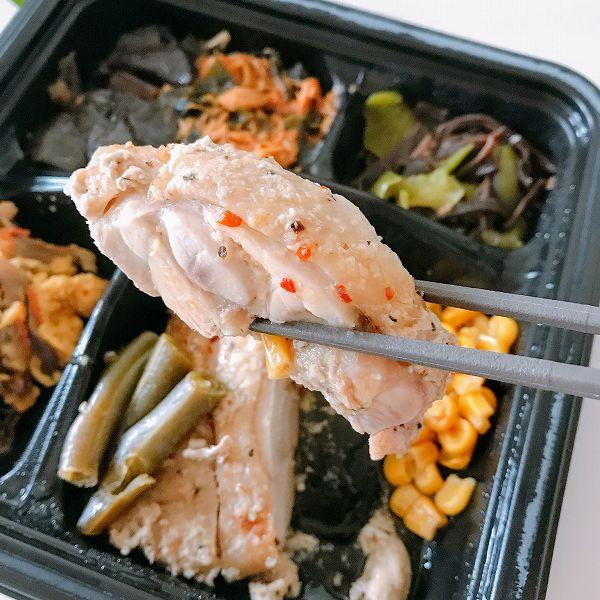 ライザップサポートミール「鶏肉のエスニック焼き」