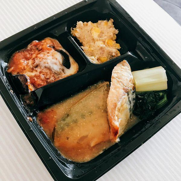 食のそよ風「プチデリカ」サバの味噌煮
